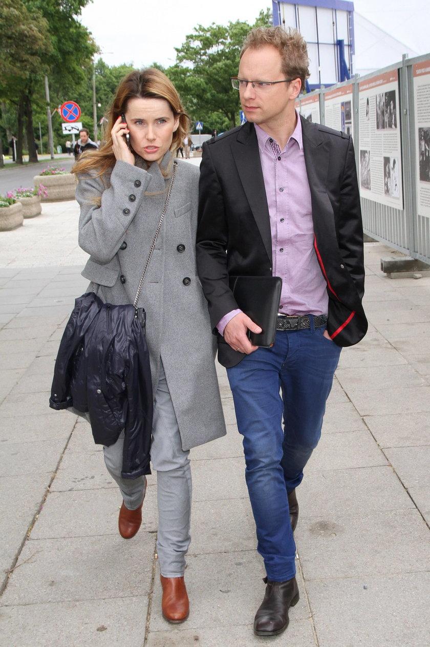 Samanta i Maciej Stuhr