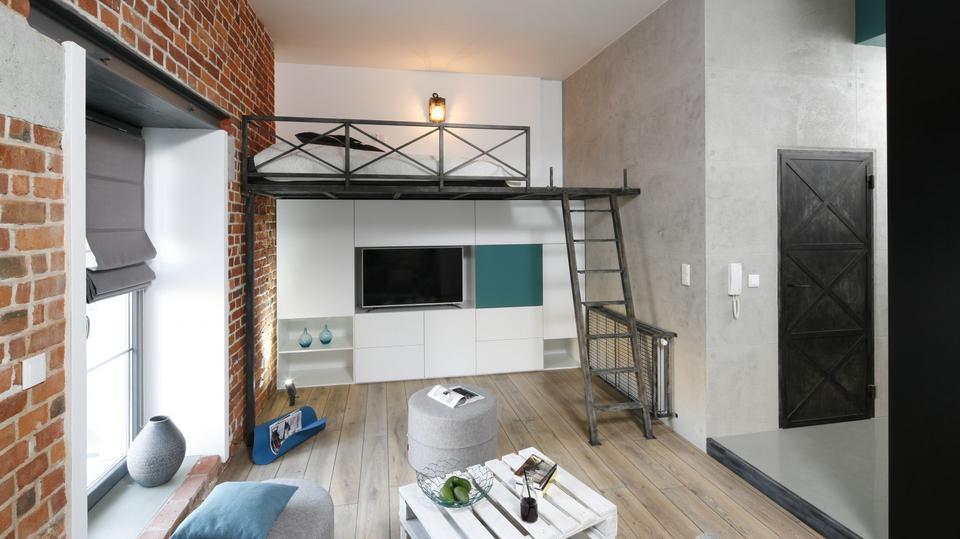 Małe Mieszkanie Pięć Ciekawych Projektów Salonu Z Aneksem Kuchennym