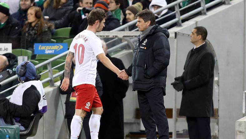 Ludovic Obraniak i Waldemar Fornalik