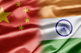 kina indija zastave