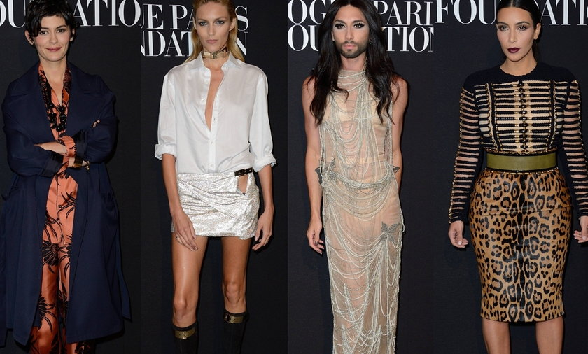 Gwiazdy na Vogue Foundation Gala Paris