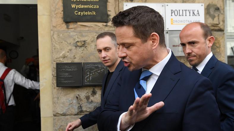 Rafał Trzaskowski i Borys Budka