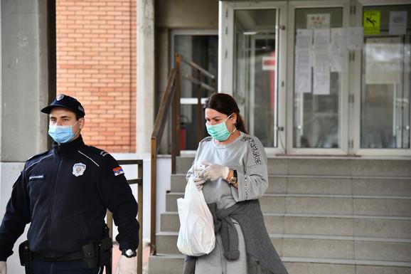 Đanijeva supruga izlazi iz pritvora