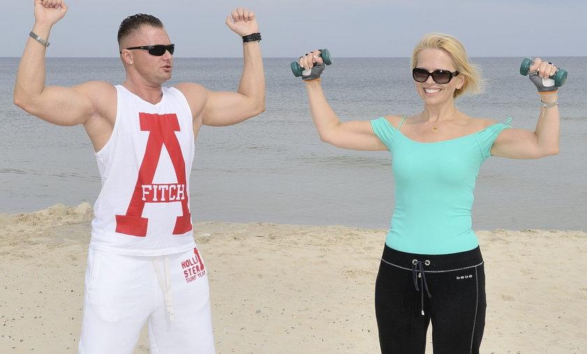 Anna Jurksztowicz i Nicolas Prusiński
