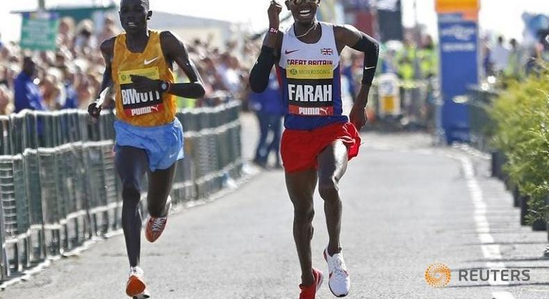 UK Athletics happy with Farah's training programme