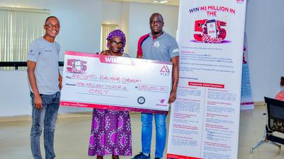 Benin bubbles as lucky winners emerge in Wema Bank's 5 for 5 Promo draw