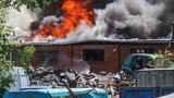 Gigantyczny pożar w Gdańsku. Są ranni