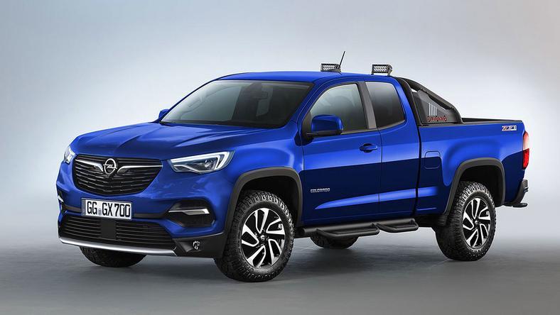 Opel pick up x model kt ry m g by zrobi furor czy powstanie moto - Pick up mobel kiel ...