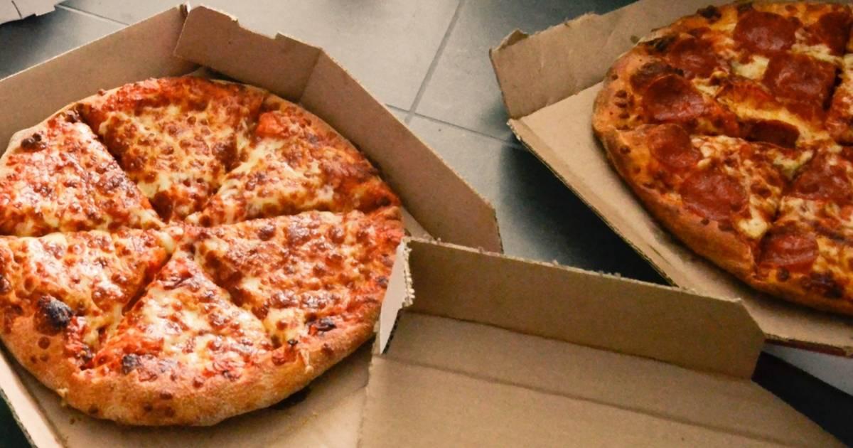 Deutscher Corona Sex mit dem Pizza Boten