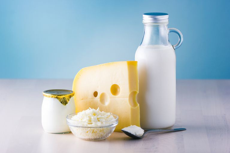 Dairy and it's products contain calcium and protein, which aid the growth of bones  [ece-auto-gen]