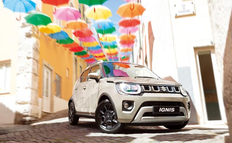 Suzuki Ignis -auto jest produkowane w Japonii