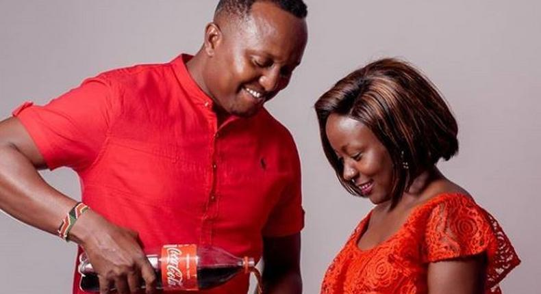 Mzazi Willy Tuva with Selly Kadot