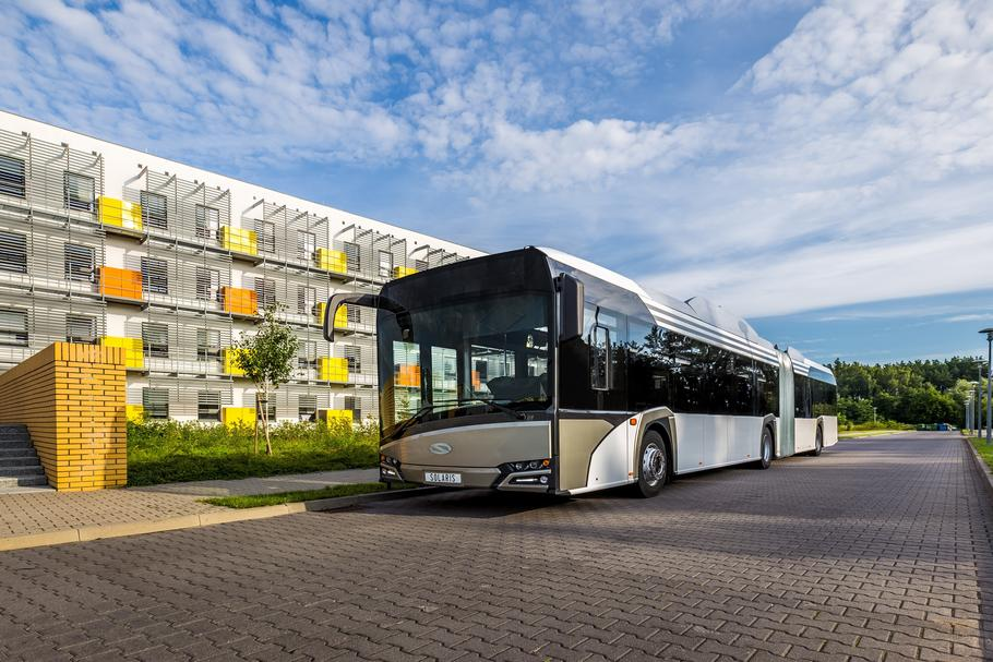 Solaris Urbino 18 electric. Taki pojazd trafi do Berlina