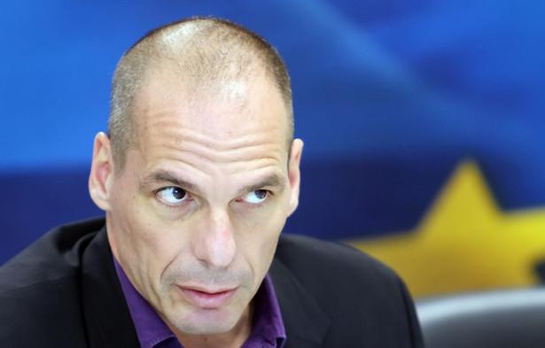 Janis Warufakis ekonomista i były minister finansów Grecji