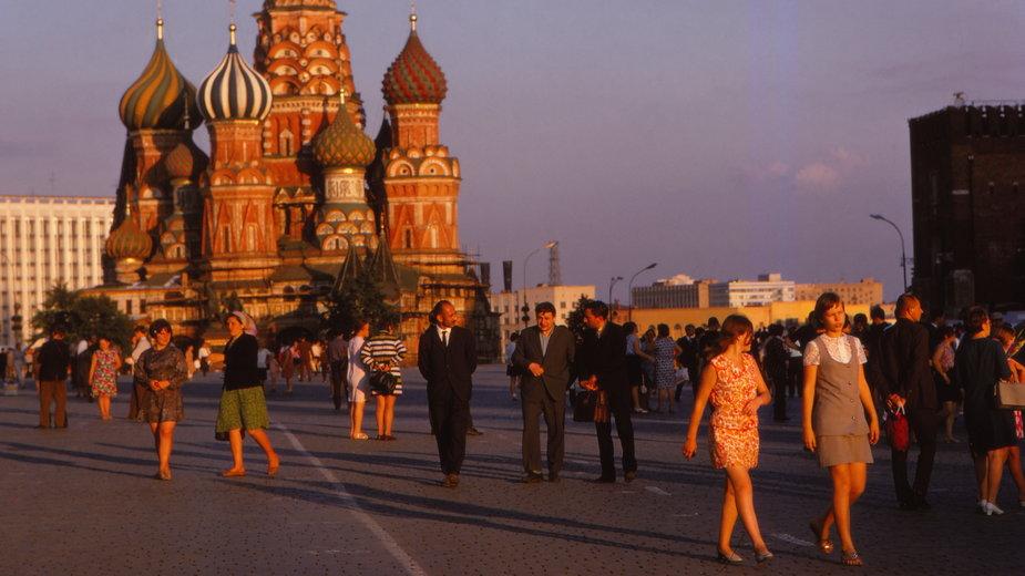 Moskwa, lata 70.