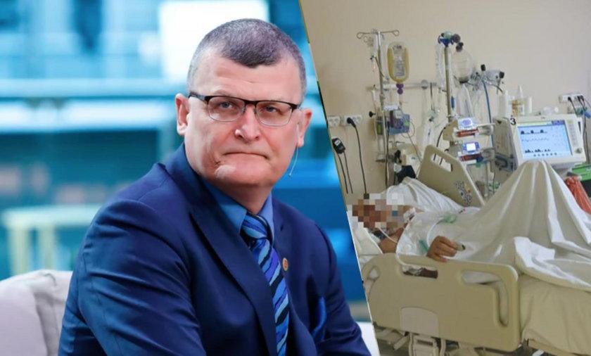 Wirus niebezpiecznie się doskonali. Co stanie się za kilka miesięcy? Dr Grzesiowski ostrzega. FOT. Forum/newspix