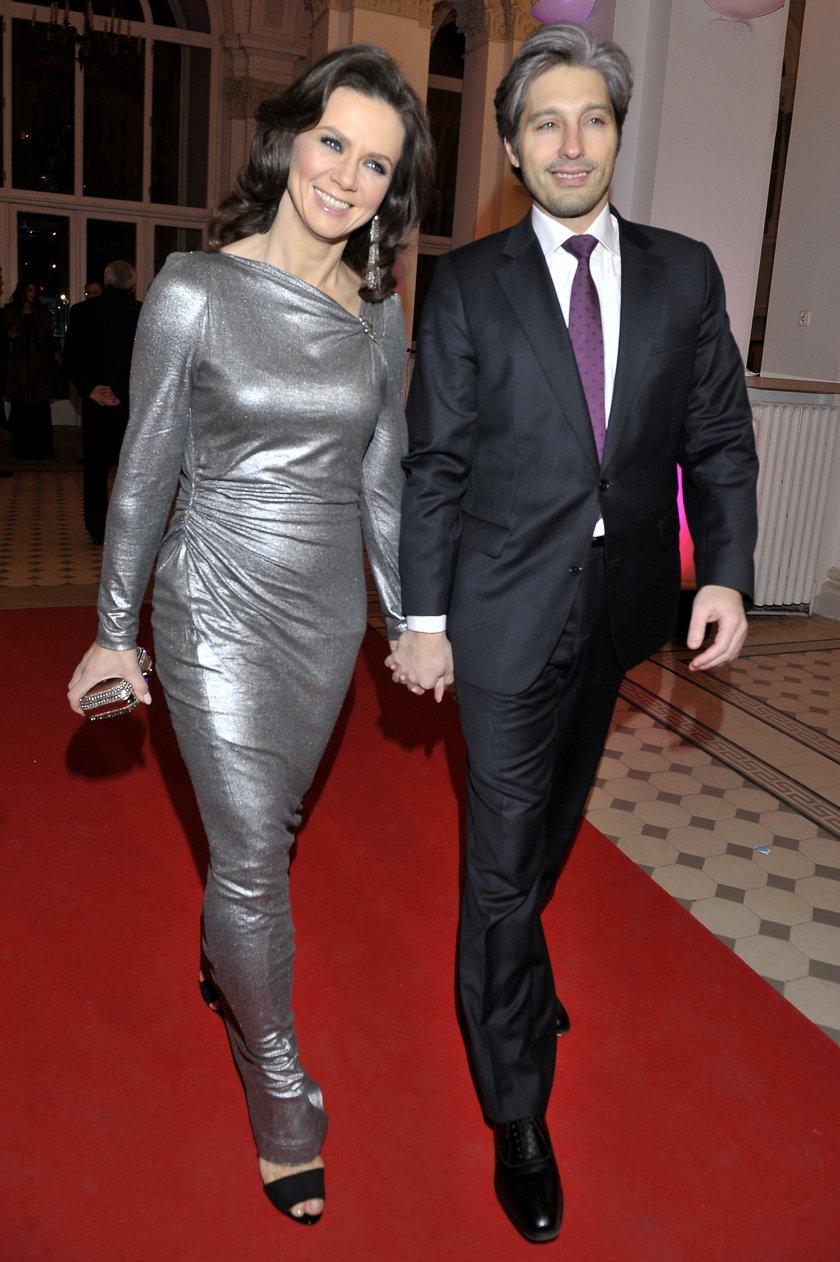 Kinga Rusin (47 l.) i Marek Kujawa (44 l.)