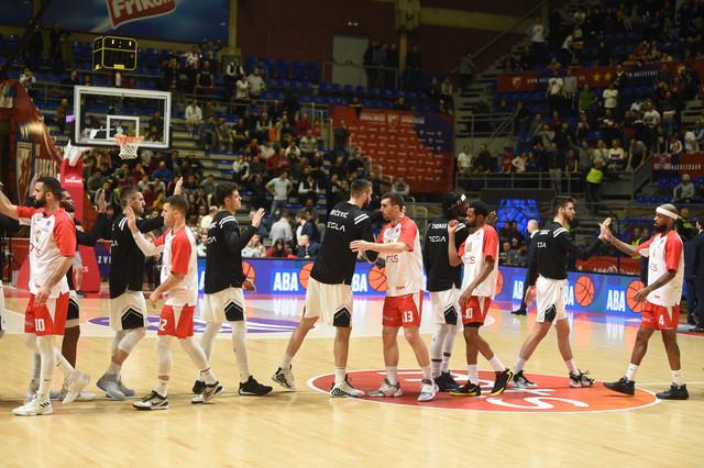 Košarkaši Crvena zvezde i Partizana pred duel 18. kola ABA lige