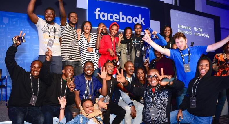 Facebook comes calling and hosts its first 'Facebook iD8 Nairobi' conference aimed at growing the tech ecosystem across Africa. (courtesy)