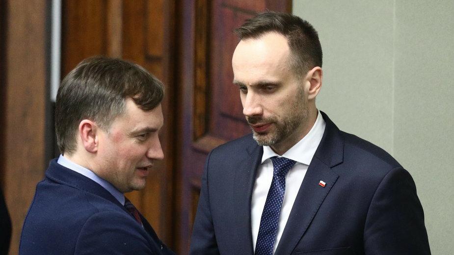 Zbigniew Ziobro i Janusz Kowalski