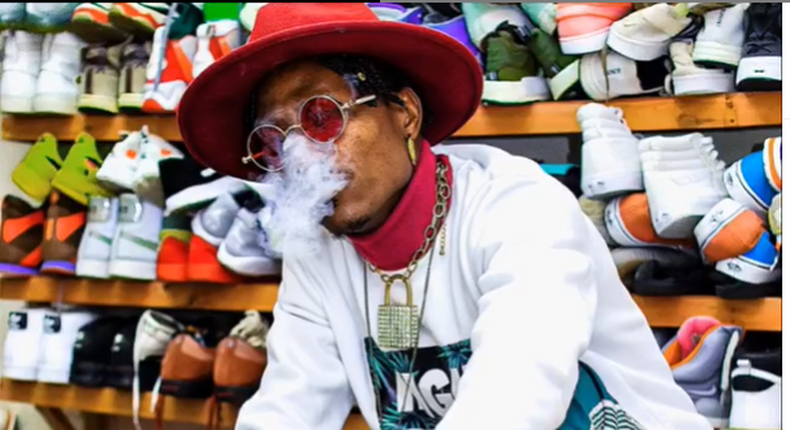 Octopizzo promises to sing about Marijuana in all his songs until its legalized