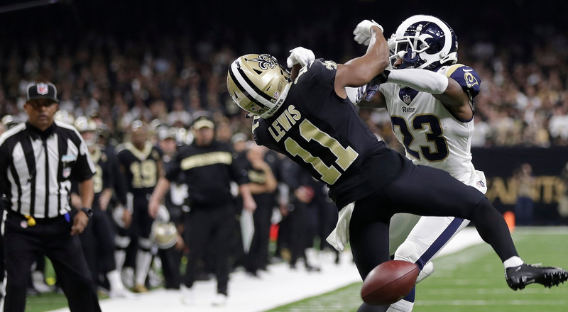 There is an ironic failure to the NFL's new pass interference review rules