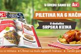 """U sredu samo uz """"Blic"""" dodatak """"Srpska kujna"""""""