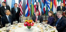 Obama chwali Komorowskiego bez wąsów!