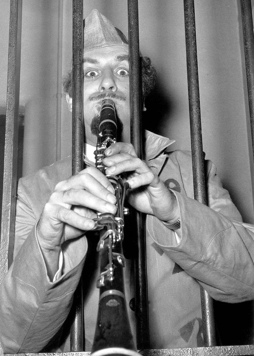 Acker Bilk i jego ukochany klarnet - 1962 rok