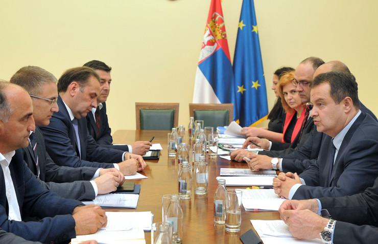 ivica Dačić, Nebojša Stefanović, Tanjug, D Goll