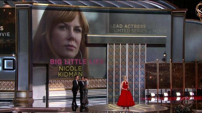 """Nikol Kidman na bini u Los Anđelesu: dobitnica """"Emi"""" nagrade imala je mnogo razloga za slavlje sinoć"""