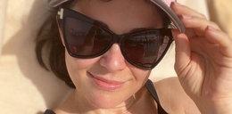 Kasia Cichopek odsłania biust na wakacjach