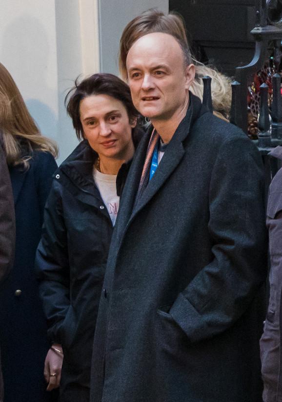 Dominik Kamings sa suprugom Meri u decembru 2019.