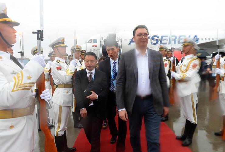 Aleksandar Vučić u Kini