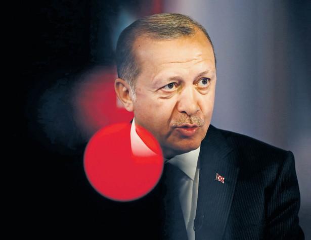 Prezydent Recep Tayyip Erdoğan fot. Simon Dawson/Bloomberg