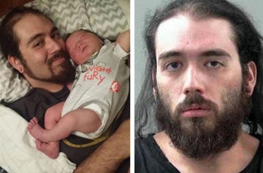 Zabił niemowlę, bo irytował go płacz