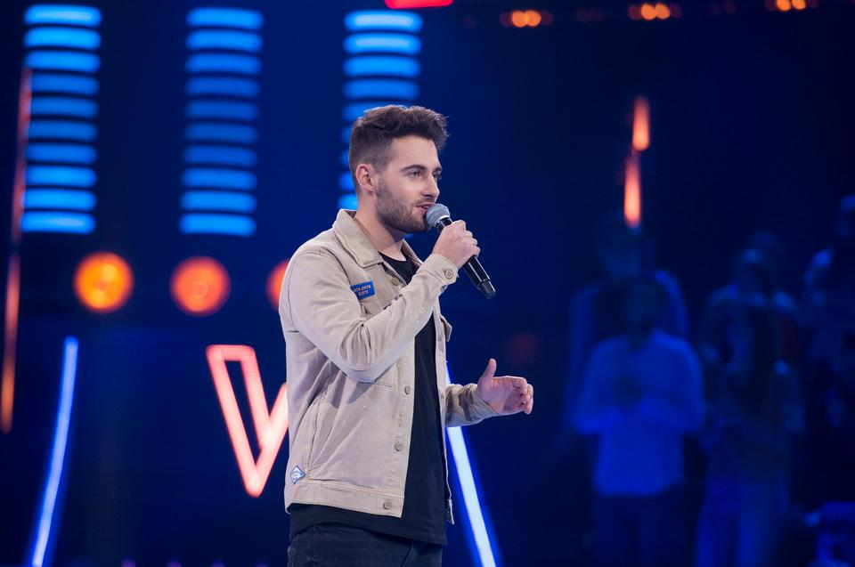 "Jędrzej Skiba w ""The Voice of Poland 11"""