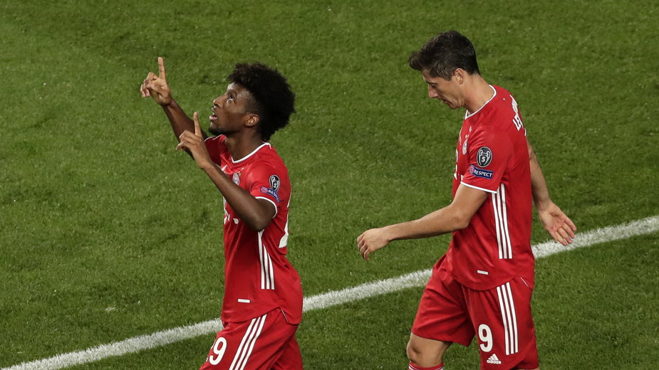 Kingsley Coman i Robert Lewandowski