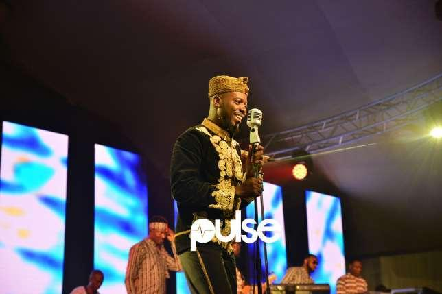 Adekunle Gold on stage at One-Night-Stand [Pulse]
