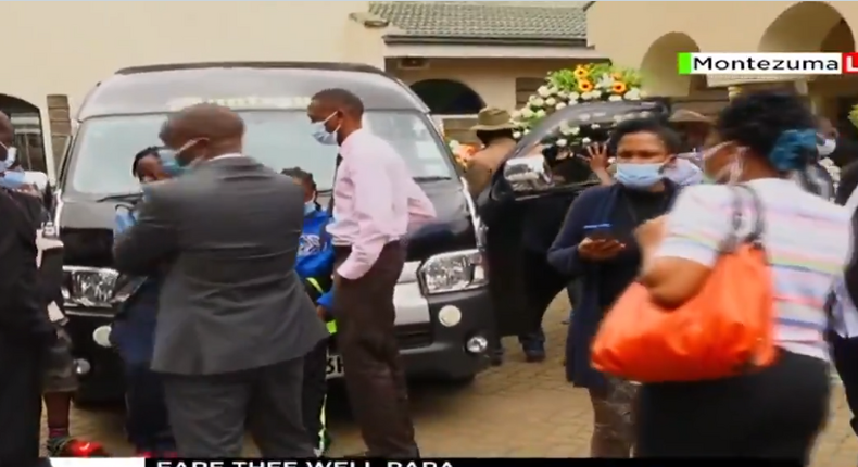 Emotions run high as Papa Shirandula's remains leave for his final resting place [Video]