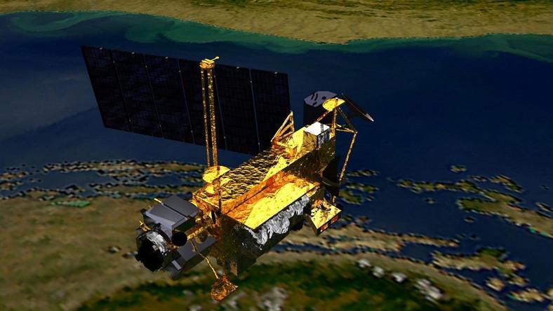 Satelita spadł na Ziemię. Ważył sześć ton!