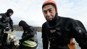 Nurkując wśród zmarłych. Cztery lata po tsunami w Japonii