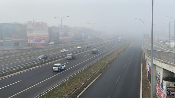 Ovako je jutros izgledao autoput