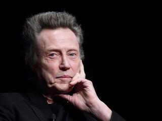 Christopher Walken ''Meeting With American Cinema'' in Rome