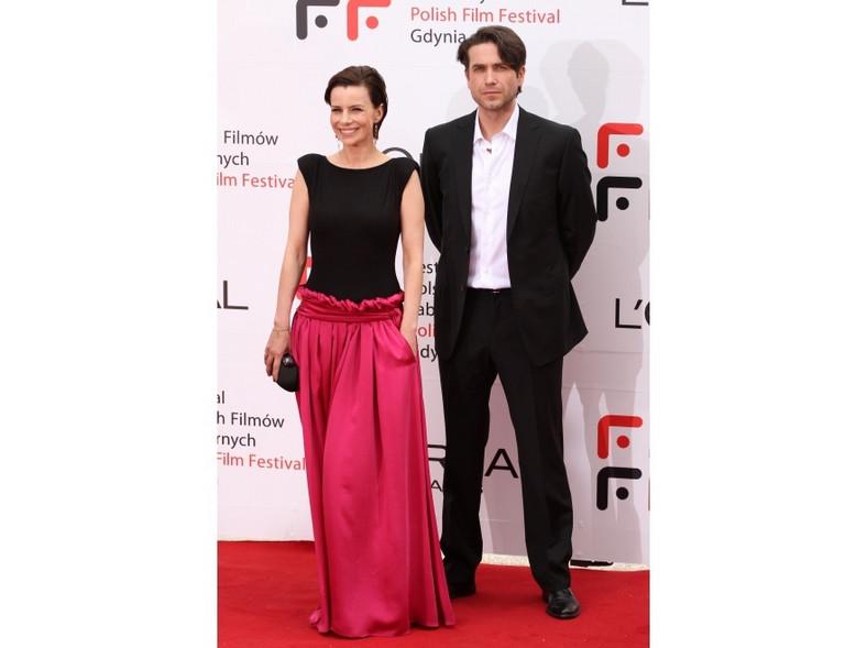 Tak wyglądała Agata Kulesza w sukni zaprojektowanej przez Stefano Terrazzino.