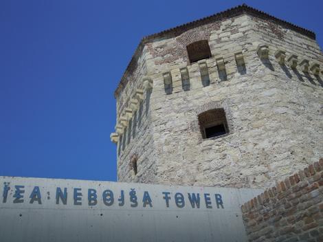 U Kuli Nebojša bili su zatočeni grčki revolucionar i pesnik Riga od Fere i Jevrem Obrenović