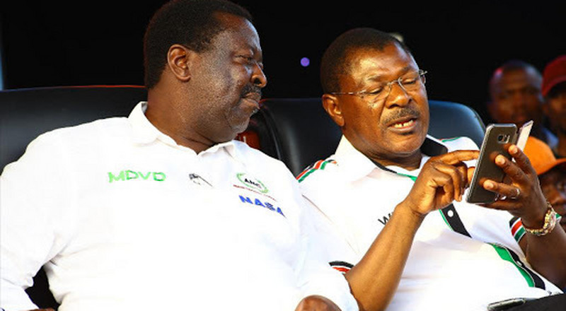Musalia Mudavadi likely to lose his ANC Party Leader's seat in 6 days after today's notice