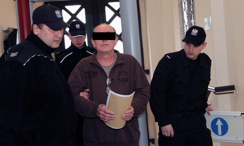 56-letni Stanisław S. skazany na 25 lat więzienia