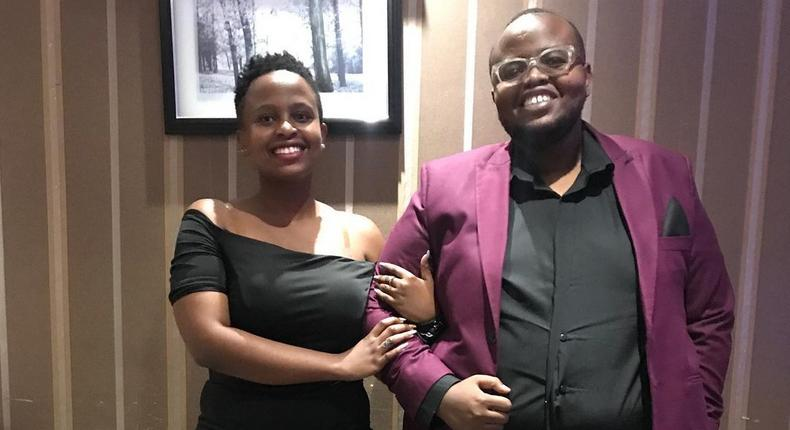 K24's DJ Mzito proposes to his girlfriend and it's a Big YES