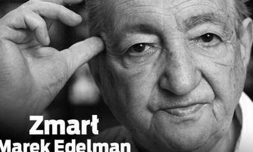 Zmarł Marek Edelman